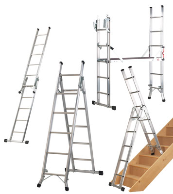 professional 5-way combi ladder