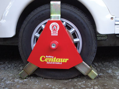centaur wheel clamp standard
