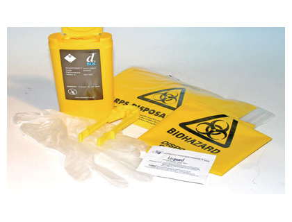 sharps disposable kit
