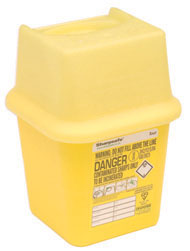 0.25 litre pocket sharps bin
