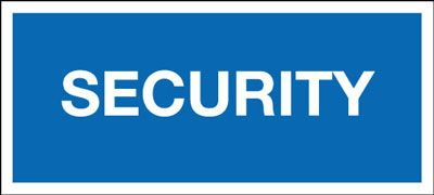 45 x 135mm security identification badge