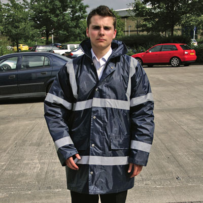 PPE Workwear clothing - security jacket navy xxl