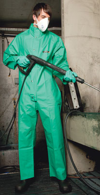 chemical boilersuit with collar L Large