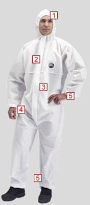 proshield 30 coverall white large