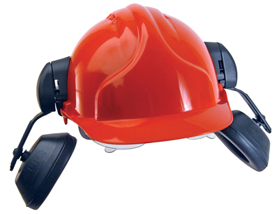 surefit helmet mounted ear defender for