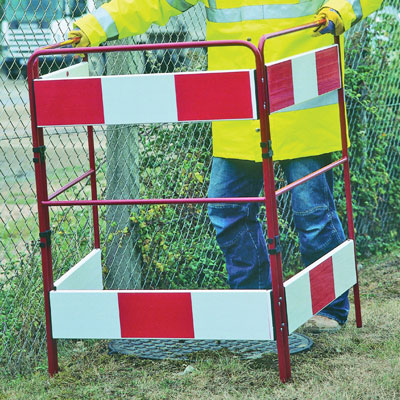 three sided barrier