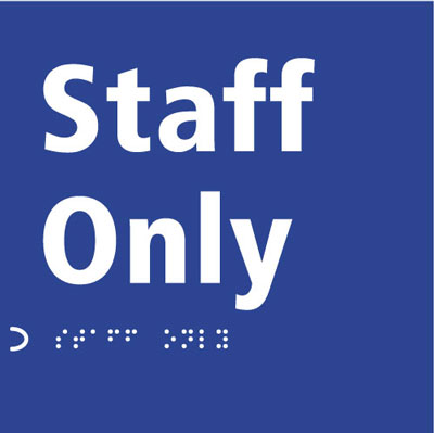 150 x 150 mm staff only