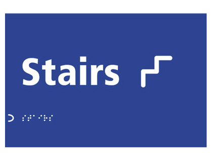 150 x 225 mm stairs graphic