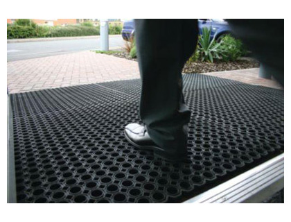 1000 x 150 heavy duty rubber entrance mat