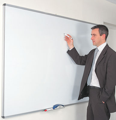 Dry wipe boards - 900 x 1200 magnetic dry wipe board