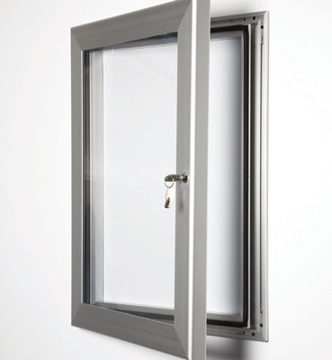 A1 tamperproof magnetic frame black