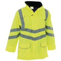 High Vis High Protection Motorway Jacket Size 2 XL Y Jackets