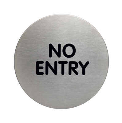 picto door sign no entry