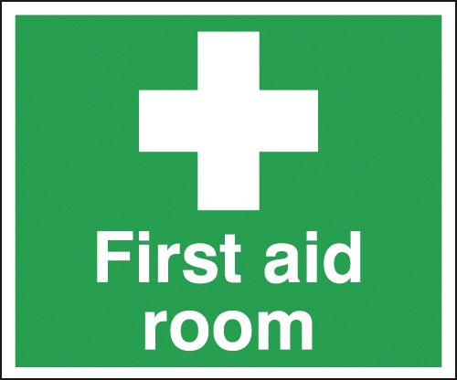 100 x 250 mm first aid room window cling