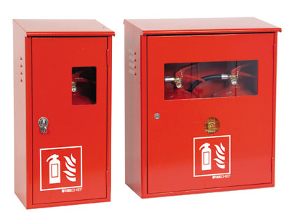 Fire extinguishers - 490 x 200 x 155 steel fire extinguisher