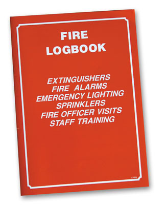 Fire risk assessment - fire safety log book A5