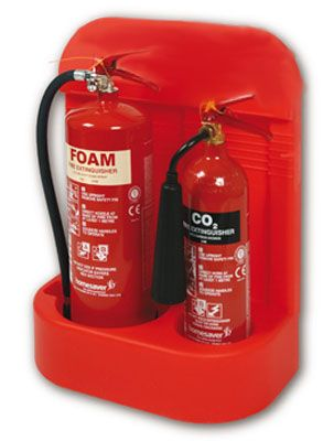 single fire extinguisher stand 6kg / L Large
