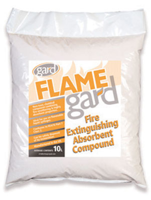 flamegard absorbent compound