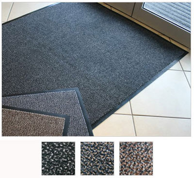 600 x 900 mm prestige entrance mat black / grey black / grey