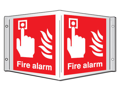 projecting sign fire alarm