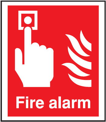 300 x 250 mm fire alarm self extinguishing rigid plastic