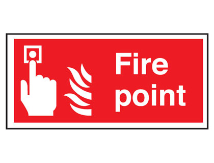 150 x 300 mm fire point self extinguishing rigid plastic