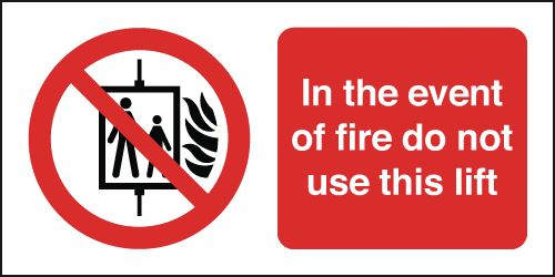 100 x 250 mm in the event of fire do not use anti glare 2 mm plastic