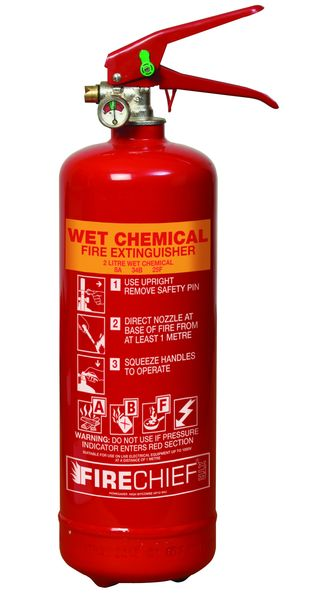 2 Litre Wet Chemical Fire Extinguisher Fire Extinguishers