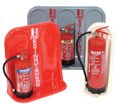 Fire extinguishers - economy sgl fire extinguisher stand crm cream