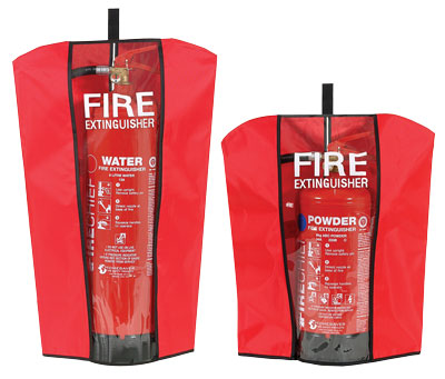 490 x 380 mm fire extinguisher covers