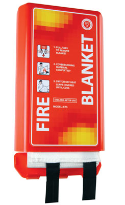 1mx 1 metre 'the pod' fire blanket