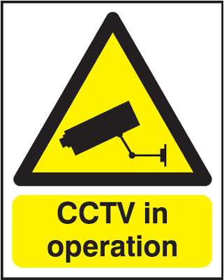 250 x 200 mm cctv in operation t bar foamed plastic 3 mm