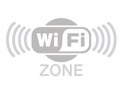 100 x 200 mm wi-fi zone glass signs