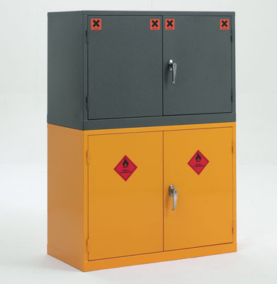 609 x 915 x 457 mm stackable coshh cabinet