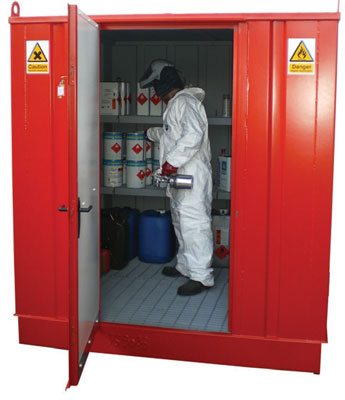 flammable storage store 1200 x 1200 x 210