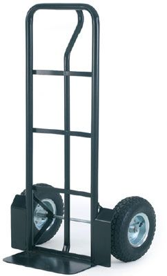 steel sack truck with ext wheel guards