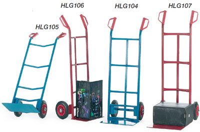 Handling Equipment - multi purpose sack truck blue 250kg blue