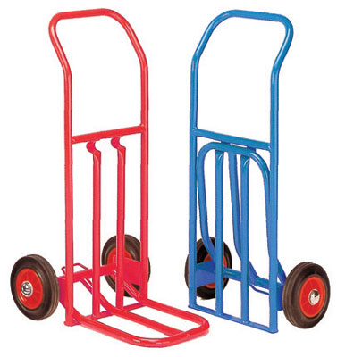 hd folding sack truck 200kg blue 2kg