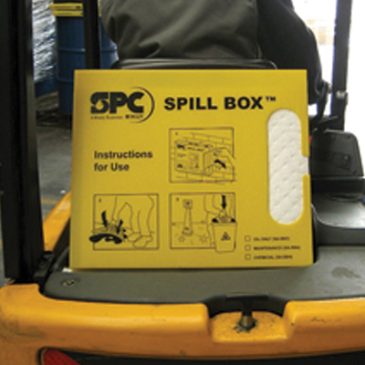 spill dispenser box oil