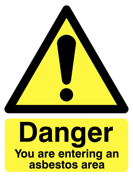 400 x 300 mm Danger You Are Entering An Safety Labels