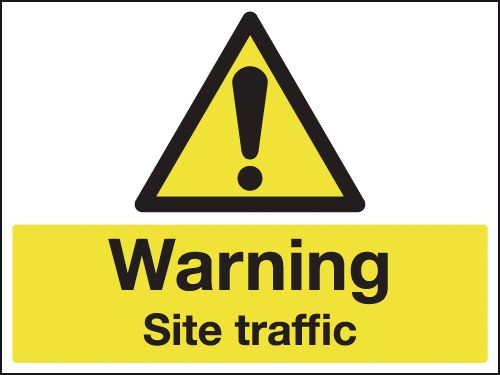 450 x 600 mm Warning Site Traffic Safety Signs