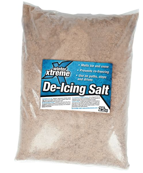brown de-icing salt 25kg