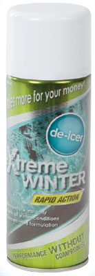 vehicle de-icer 400ml