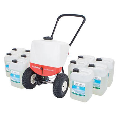 liquid ice melt kit pedestrian sprayer/2 x 10 litre ice melt