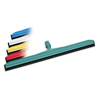 Janitorial supplies - plastic floor squeegee 75cm blue