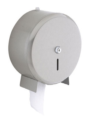 mini jumbo toilet roll dispenser white plastic
