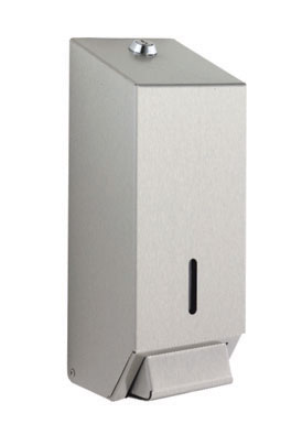 soap dispenser 0.9 litre white plastic soap dispenser