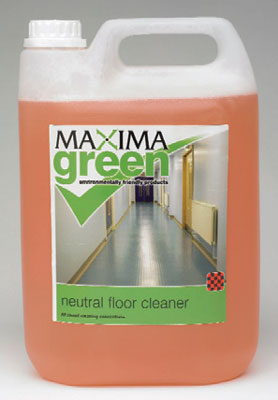maxima green neutral floor cleaner 2 x 5ltr