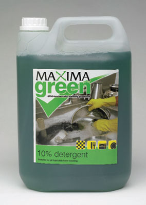 maximo green washing up liquid