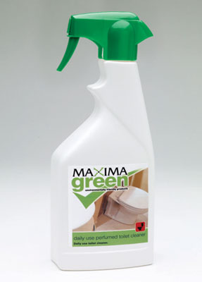 maximo green toilet cleaner
